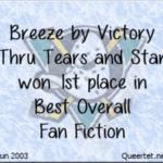 Awards - Summer 2003 - Best Overall (1st Place) - Breeze